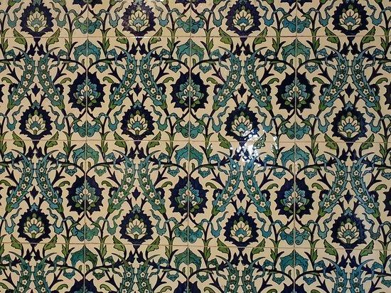 Jackfield Tile Museum: Iznik panel