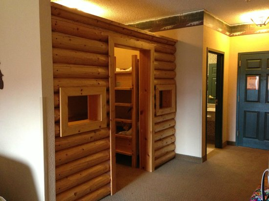 Great Wolf Lodge: kids cabin room