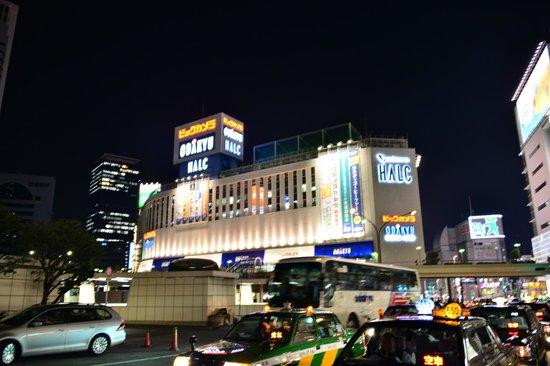 Hotel Rose Garden Shinjuku: Tokyo a noite