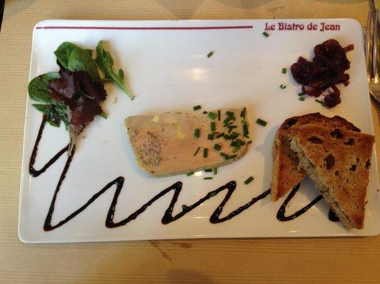 Le Bistro de Jean : Le paté de foie gras