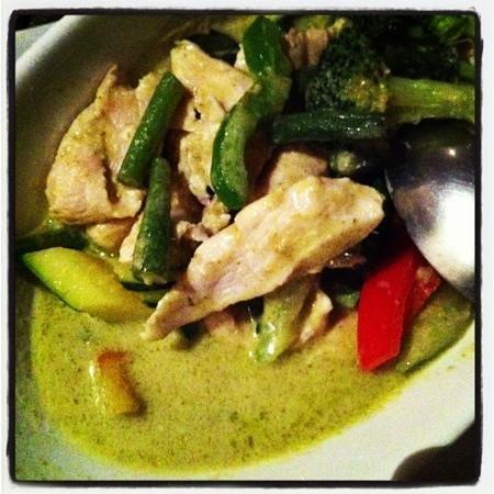 Thai Thai: pollo curry verde