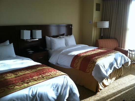 Lancaster Marriott at Penn Square : My first impression of my hotel room