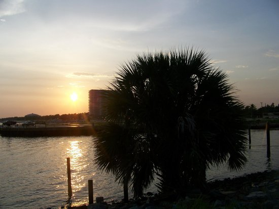 Treasure Bay Casino: sunset
