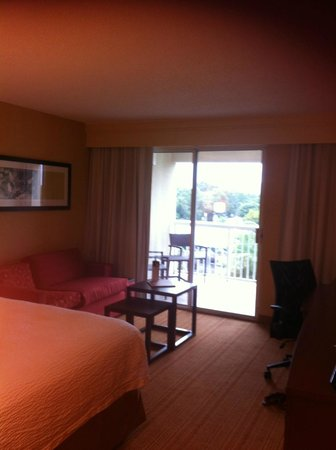 Courtyard by Marriott Orlando Downtown: looking at the balcony