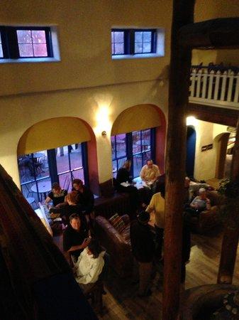 The Historic Taos Inn: from balcony