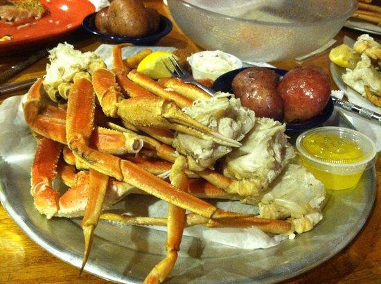 Charlie Horse Restaurant: Unlimited Crab Legs