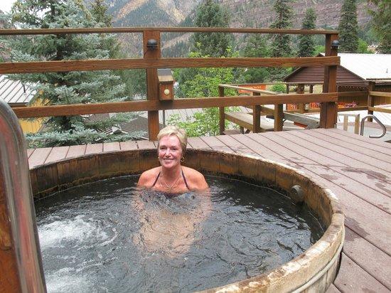 Box Canyon Lodge & Hot Springs: Visitors stay at Box Canyon because of the Hot Springs