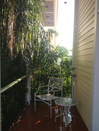 Maison DuBois : Balcony off Orleans Suite