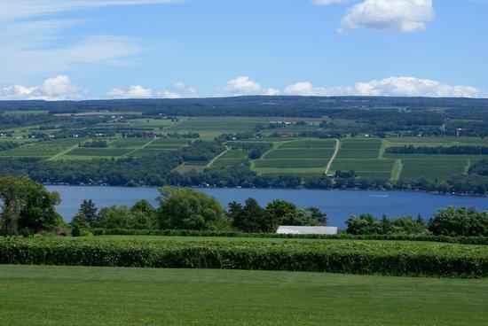 Finger Lakes Wine Country : Beautiful Keuka Lake