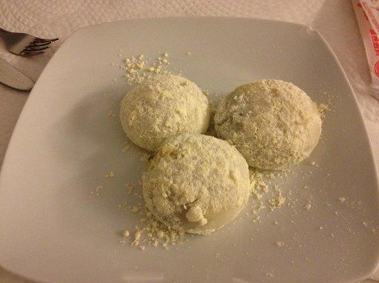 Yum Cha Garden: sobremesa tipica