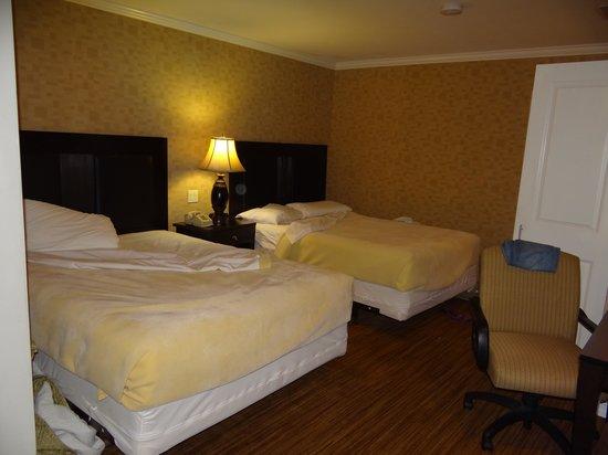 Hotel Stanford : suite espaçosa