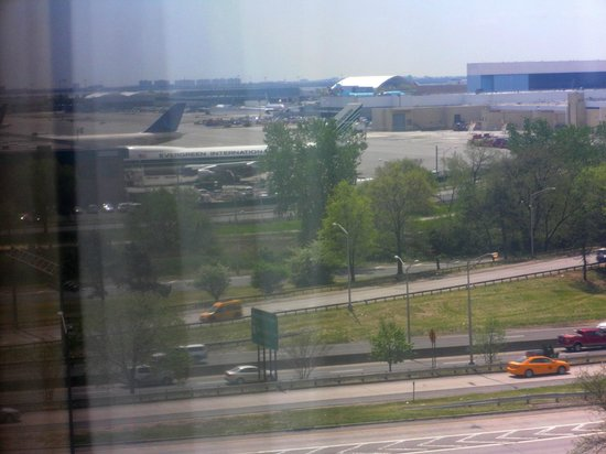 Hampton Inn NY - JFK: View of JFK Airport and Belt Parkway