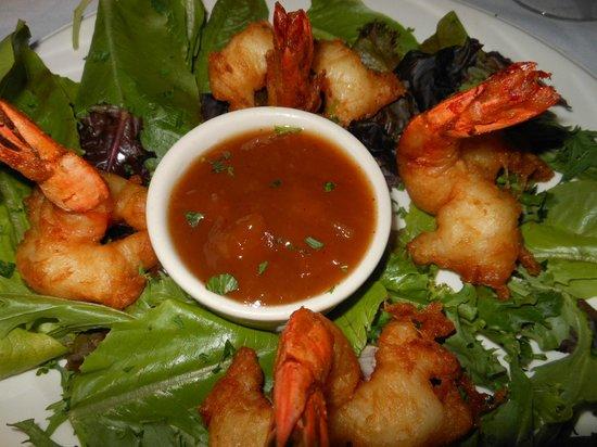 Crescent Lodge & Country Inn : Stuffed Shrimp