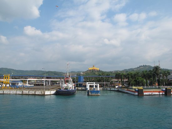 Kalianda, Indonesië: From Bakauheni Harbour