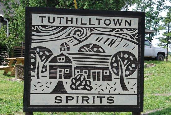 Tuthilltown Spirits: Distillery logo