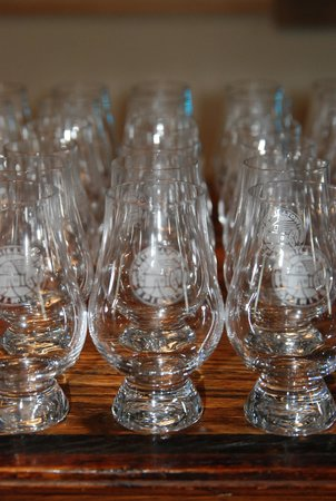 Tuthilltown Spirits: tasting glasses