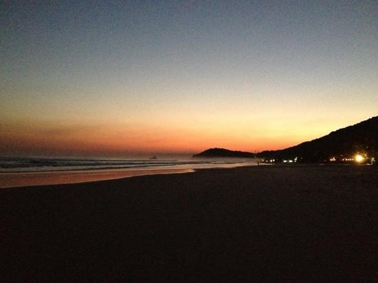 Juquehy Beach: por do sol em Juquehy