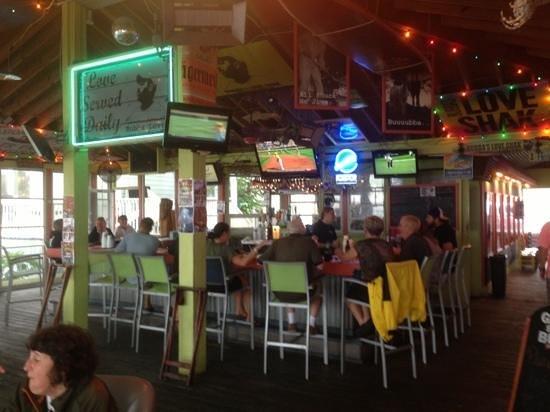 Bubba's Love Shak : the bar @ Bubba's