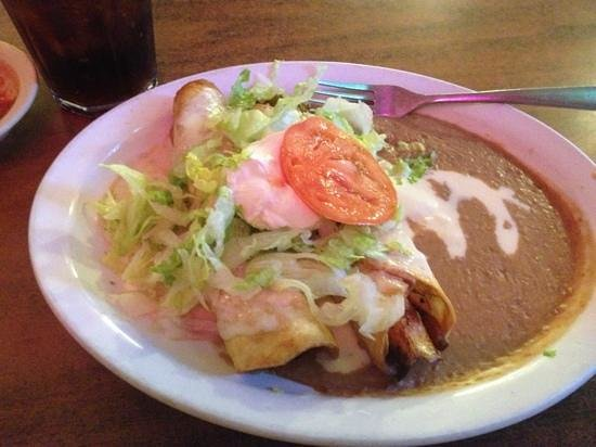 Miguel's Restaurants Incorporated: chimichanga
