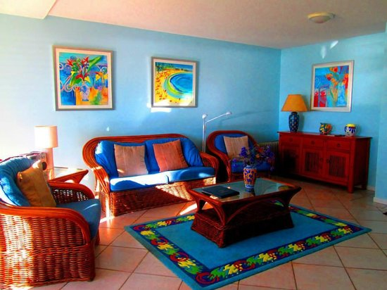 Cockleshell Sands: Living Room