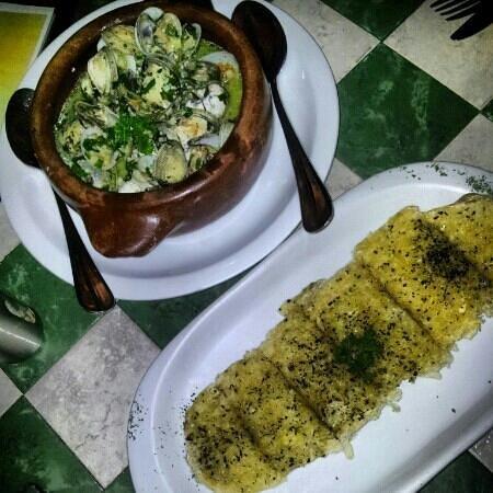Bruschetta Restaurant: Almejas al ajillo