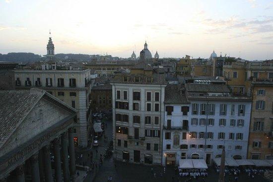 Albergo del Senato: View from roof top terrace