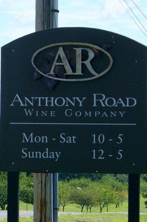 Anthony Road Wine Company: Anthony Road