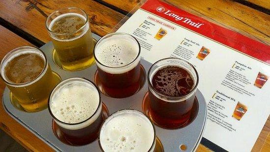 Long Trail Brewing Company: Long Trail Sampler