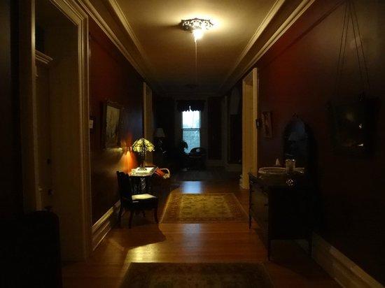 The Casey-Pomeroy House: Hallway