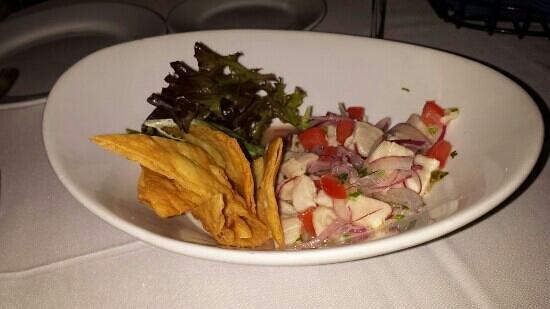 Agua Restaurant & Lounge : Cayman Ceviche