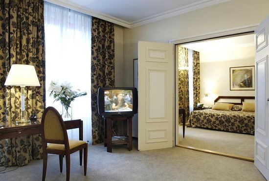 Presidential Suite at Hotel du Parc Mulhouse
