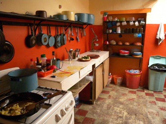 Hostal el Rincon de  los Camellos: Kitchen