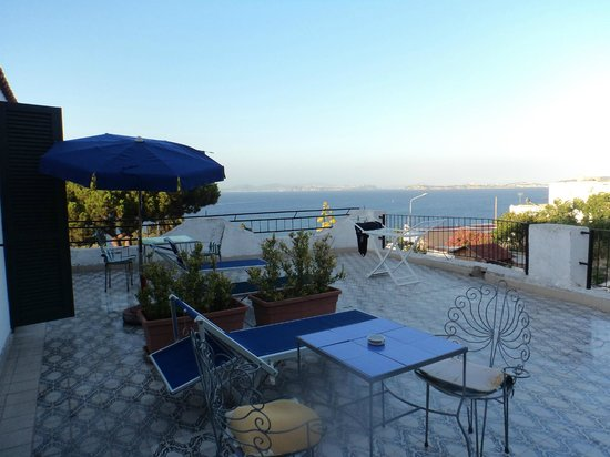 Gemma Hotel : View of our terrace