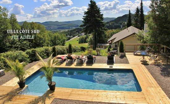 Villa Côté Sud: la piscine et sa terrasse panoramique