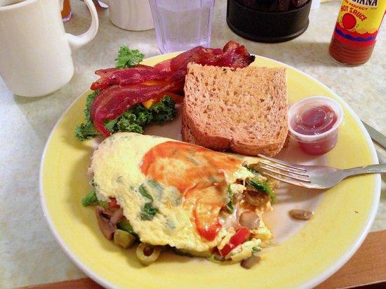 Omelette Shoppe : California Omelette