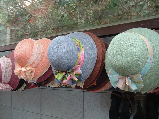 Hup Kraphong Royal Development Project Center: hats at hup kha pong project