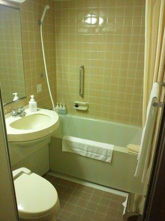 Shizuoka Grand Hotel Nakajimaya: バスルーム