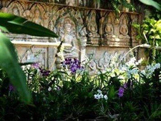 Thavorn Palm Beach Resort: Orchid Garden
