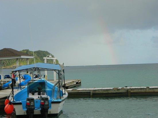 Batteaux Bay, Speyside.