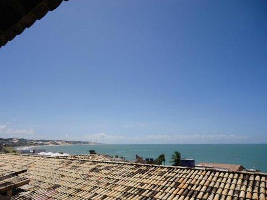 SESC Enseada Praia Hotel: Vista da Sacada do quarto 509