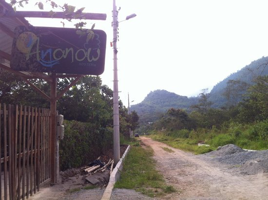 Ananaw Hosteria: What you see from the street
