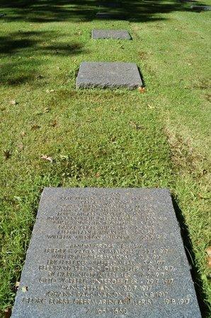 Vladslo German War Cemetery: war dead