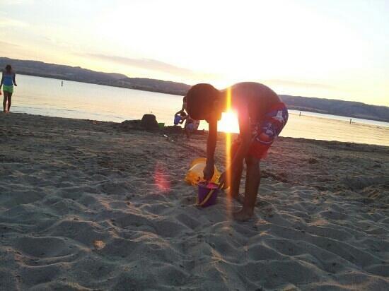 Angostura Recreation Area: beach fun