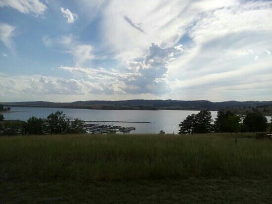 Angostura Recreation Area: cabin view