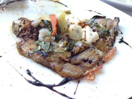 Don Antonio Trattoria: eggplant, mozzarella appetizer