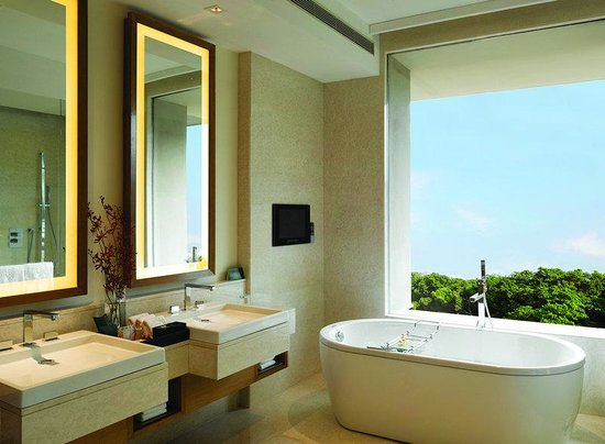 The Oberoi, Gurgaon: Deluxe Room Bathroom 1
