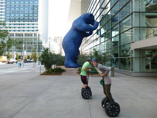 Rocky Top Glide: Blue Bear and the boys.  :)