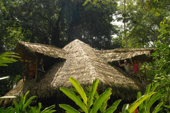Casa Moabi: The open-air multi-level cabin