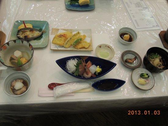 Hotel Furearu Izumi: 2日目の夕食
