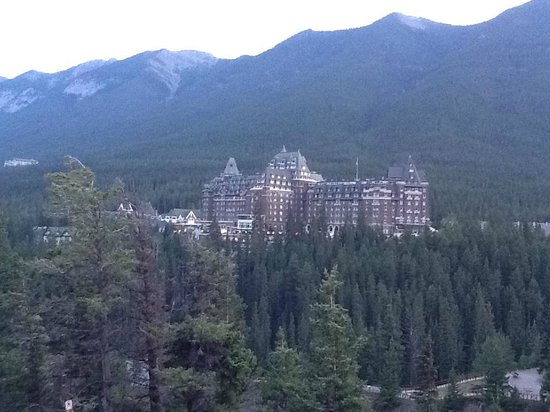 Banff Springs from Surprise Corner